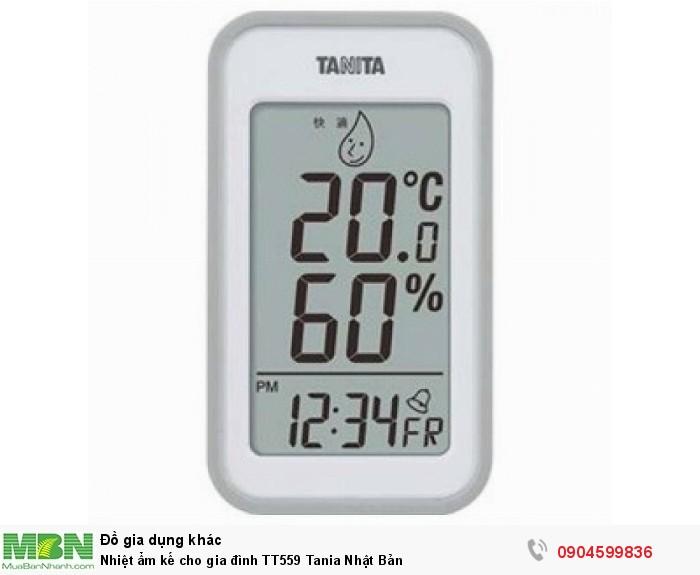 Nhiệt ẩm kế TT559 Tanita0