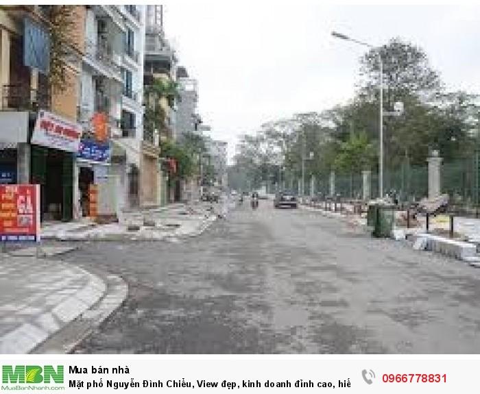 Mặt phố Nguyễn Đình Chiểu, View đẹp, kinh doanh đỉnh cao, hiếm có khó tìm.
