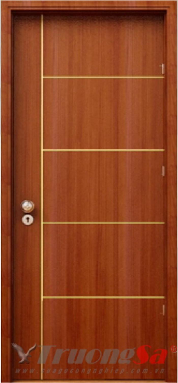 Cửa gỗ công nghiệp có giá thành rẻ hơn rất nhiều so với cửa gỗ tự nhiên