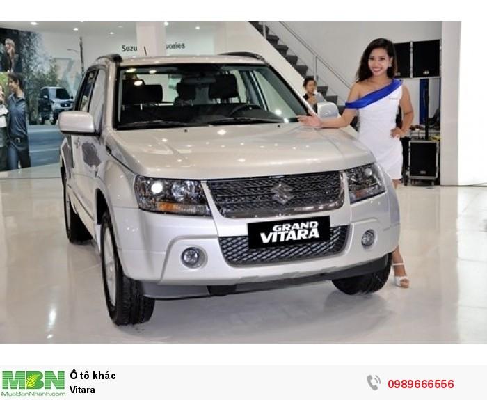 Suzuki Vitara 2017 được trang bị động cơ xăng 1.6L VVT