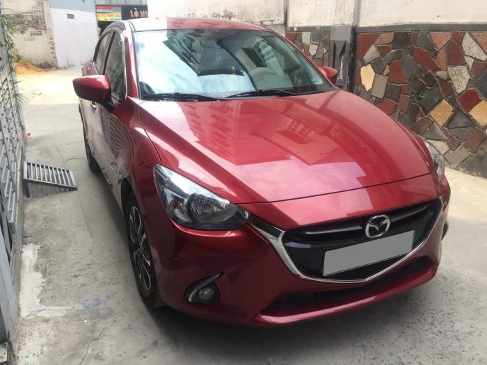 Nhà kinh doanh cần tiền bán nhanh xe Mazda 2 AT màu đỏ 2018 mới tinh luôn