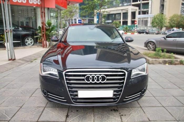 Audi A8 4.2 Quattro, sx 2010, đăng kí 2011, màu xanh, nhập nguyên chiếc tại Đức. 13