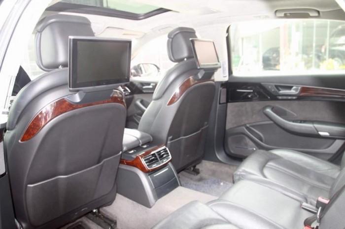 Audi A8 4.2 Quattro, sx 2010, đăng kí 2011, màu xanh, nhập nguyên chiếc tại Đức. 8