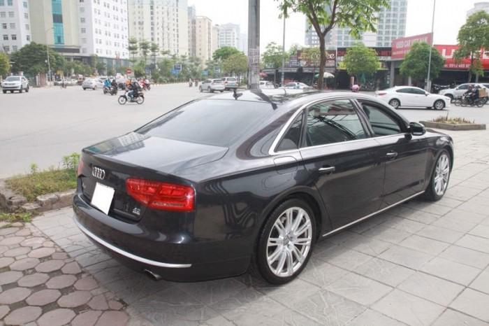 Audi A8 4.2 Quattro, sx 2010, đăng kí 2011, màu xanh, nhập nguyên chiếc tại Đức. 9