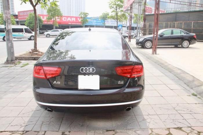Audi A8 4.2 Quattro, sx 2010, đăng kí 2011, màu xanh, nhập nguyên chiếc tại Đức. 3