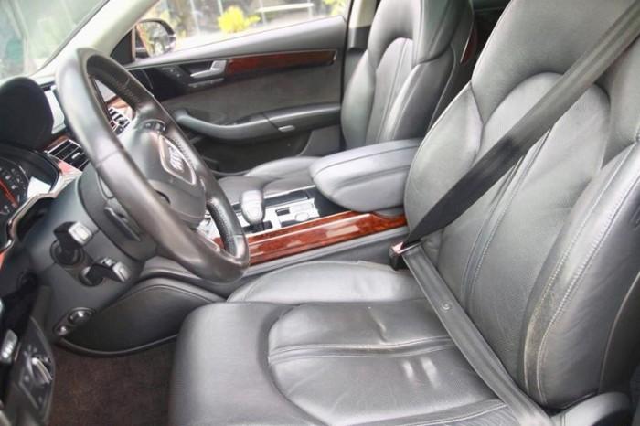 Audi A8 4.2 Quattro, sx 2010, đăng kí 2011, màu xanh, nhập nguyên chiếc tại Đức. 2