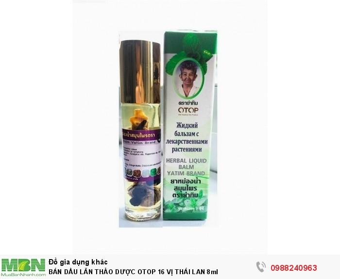 Bán Dầu Lăn Thảo Dược Otop 16 Vị Thái Lan 8ml
