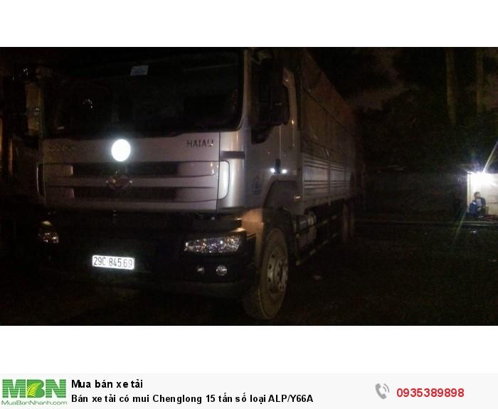 Bán xe tải có mui Chenglong 15 tấn số loại ALP/Y66A