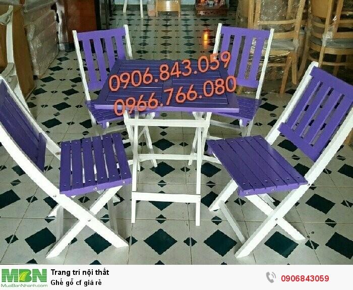 Ghế gỗ cf giá rẻ2