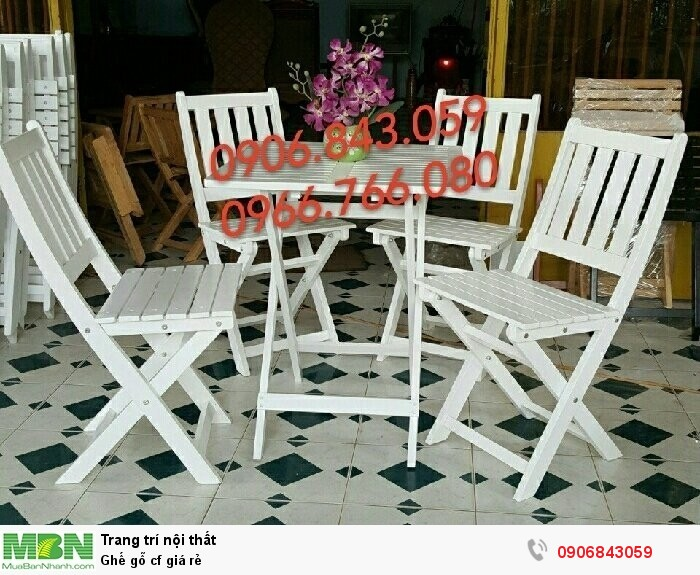 Ghế gỗ cf giá rẻ4