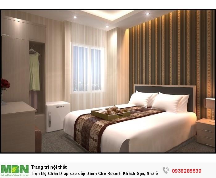 Trọn Bộ Chăn Drap cao cấp Dành Cho Resort, Khách Sạn, Nhà ở.....
