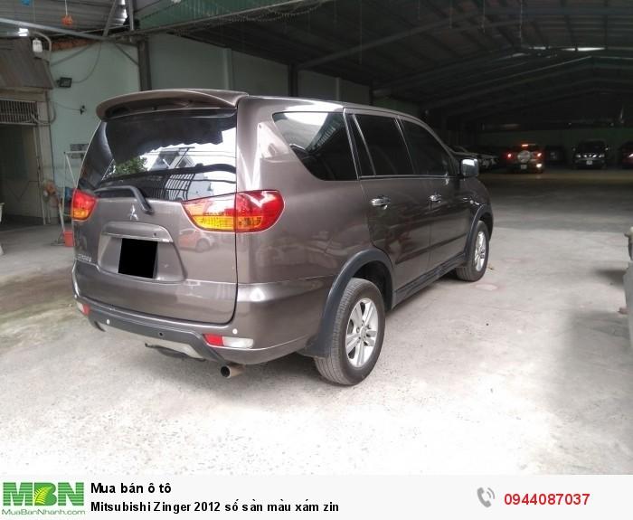 Mitsubishi Zinger 2012 số sàn màu xám zin