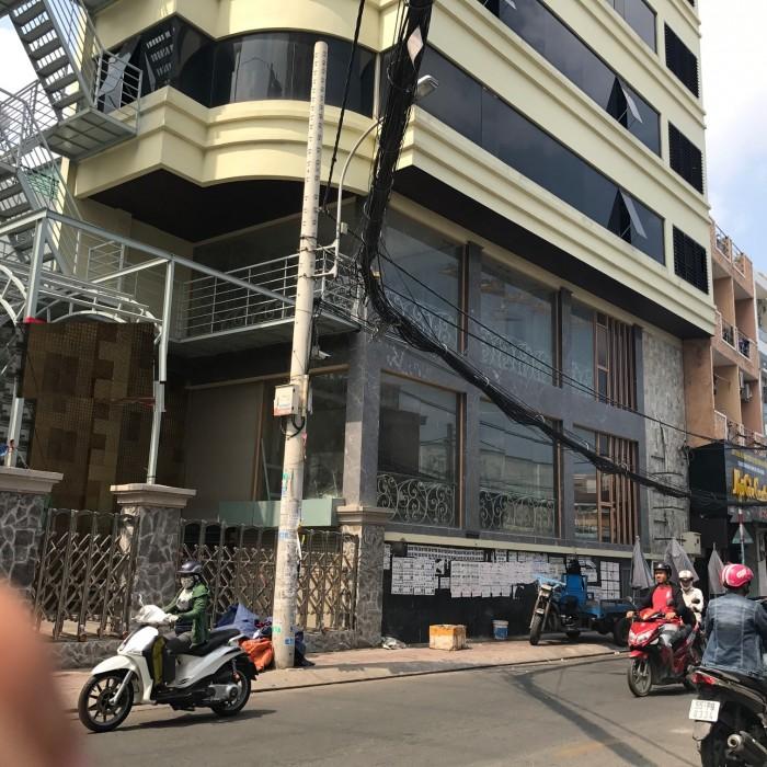 Nhà 2 góc MT cho thuê Âu Cơ, p.14, Tân Bình DT 6x26m