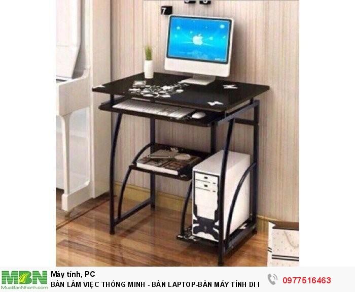 Bàn Làm Việc Thông Minh - Bàn Laptop-Bàn Máy Tính Di Động0