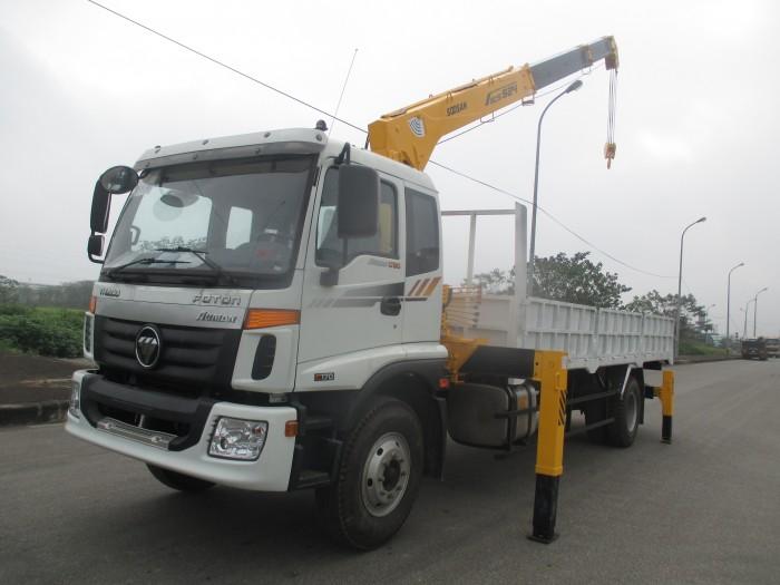 Xe tải cẩu 5 tấn Thaco