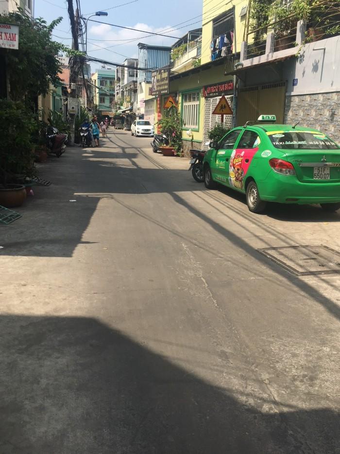 Bán nhà HXH 44 Yên Đỗ, 1T2L, Bình Thạnh