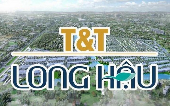 Đất nền vị trí đẹp dự án T&T Long Hậu - Long An