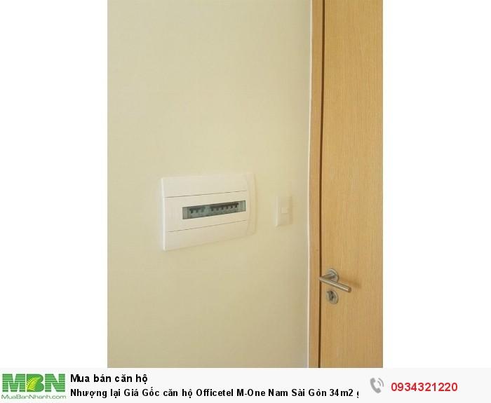 Nhượng lại Giá Gốc căn hộ Officetel M-One Nam Sài Gòn 34m2