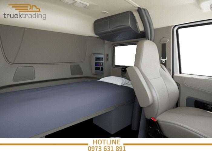 Bán xe đầu kéo Mỹ chính hãng Maxxforce 1 giường model 2014 13