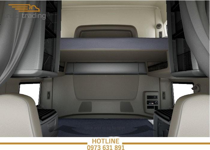 Bán xe đầu kéo Mỹ chính hãng Maxxforce 2 giường model 2014 8