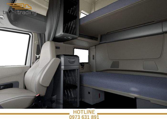 Bán xe đầu kéo Mỹ chính hãng Maxxforce 2 giường model 2014 9