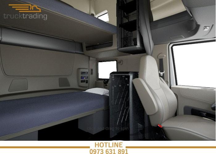 Bán xe đầu kéo Mỹ chính hãng Maxxforce 2 giường model 2014 11