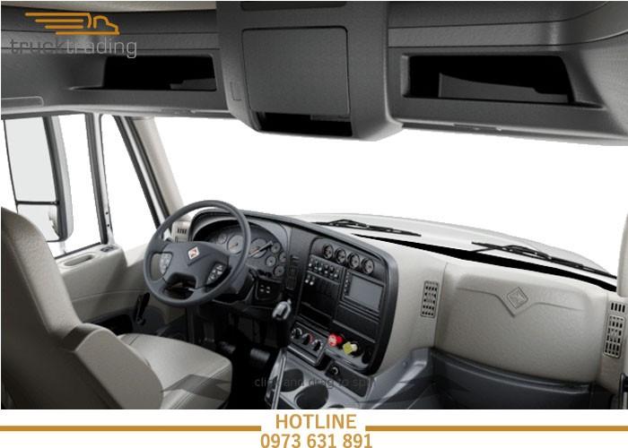 Bán xe đầu kéo Mỹ chính hãng Maxxforce 2 giường model 2014 12
