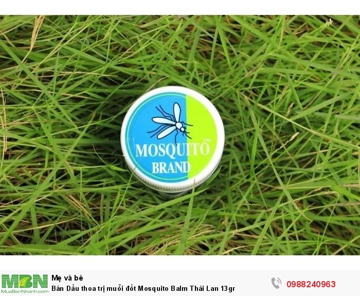 Bán Dầu thoa trị muỗi đốt Mosquito Balm Thái Lan 13gr0