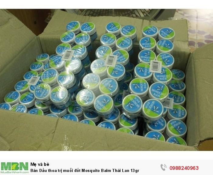 Bán Dầu thoa trị muỗi đốt Mosquito Balm Thái Lan 13gr1