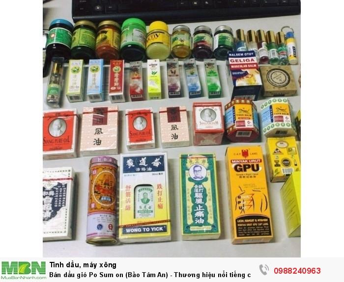 Bán dầu gió Po Sum on (Bảo Tâm An) - Thương hiệu nổi tiếng của Hongkong có từ năm 1907.1