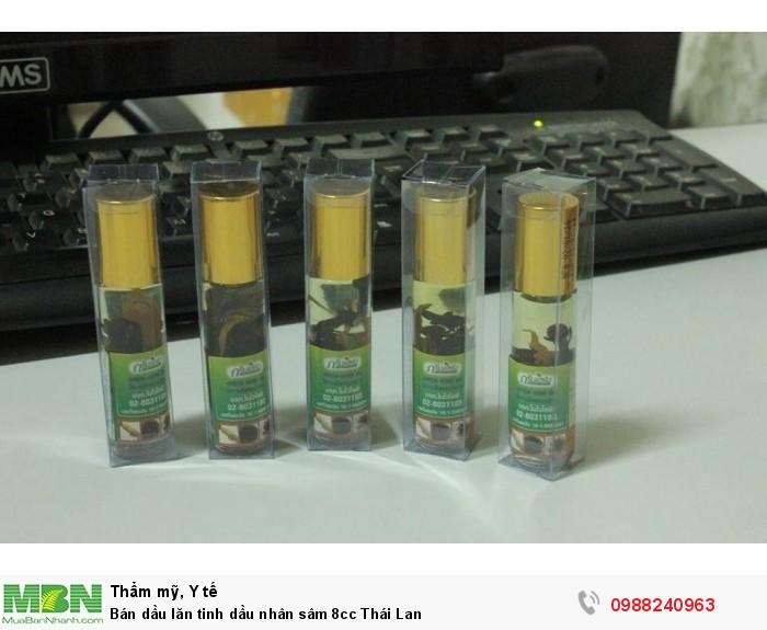 Bán dầu lăn tinh dầu nhân sâm 8cc Thái Lan1
