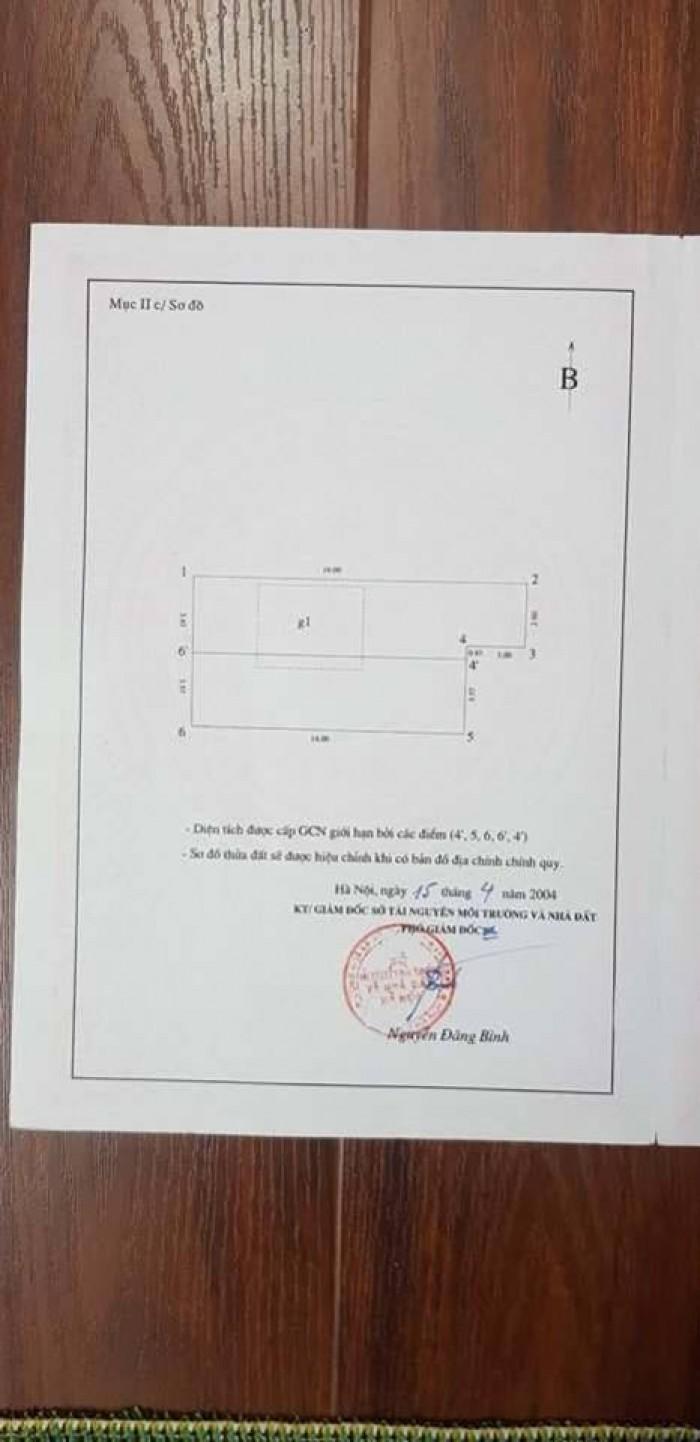 Cần bán nhà Quan Hoa 52m2 3T mặt tiền 3,7m