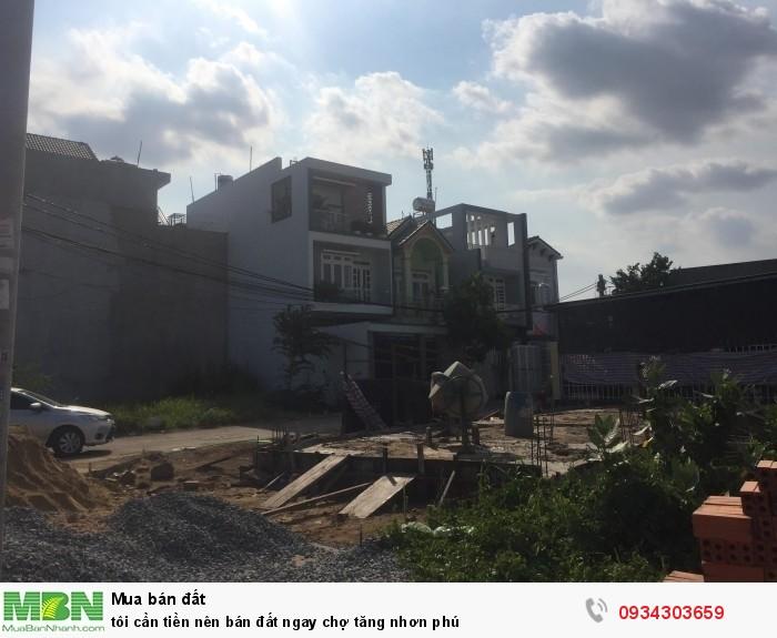 Bán Đất Ngay Chợ Tăng Nhơn Phú
