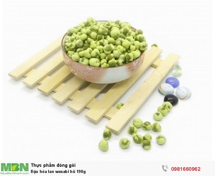 Đậu hòa lan wasabi hũ 190g