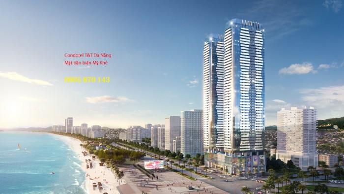 Bùng nổ căn hộ ven biển Đà Nẵng 2018 – Twin Tower Đà Nẵng view sông Hàn đẹp nhất