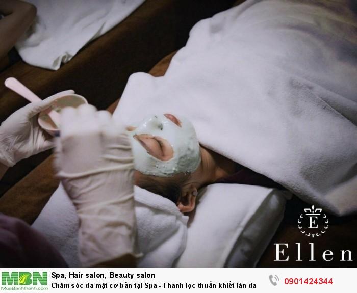 Chăm sóc da mặt cơ bản tại Spa - thanh lọc thuần khiết làn da