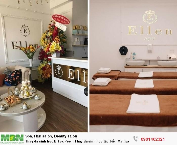 Thay da sinh học vi tảo hiện là một trong những dịch vụ được khách hàng quan tâm hàng đầu khi đến với Ellen Spa