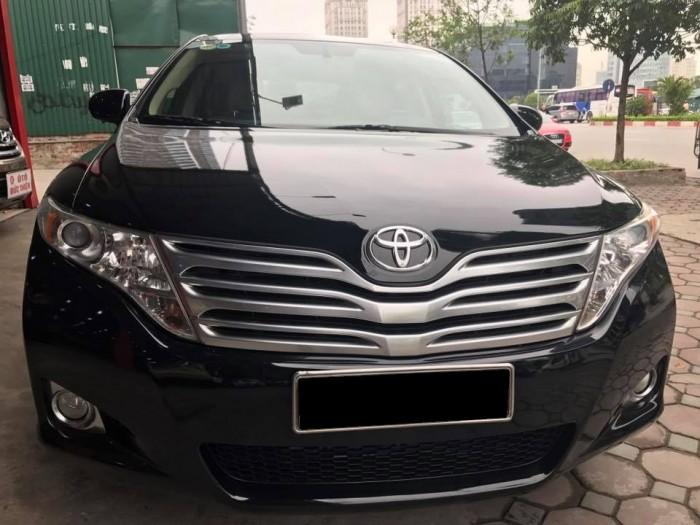 Cần bán xe Toyota Venza 3.5at 2009 màu đen VIP nhập Mỹ