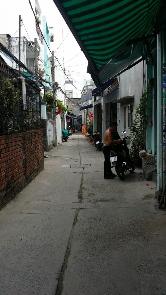 Nhà hẻm giá rẻ Gò Dầu ,DT 4 x 4,7m P.Tân Quý