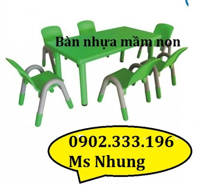 Bàn ghế nhựa cho bé, bàn ghế nhựa mầm non, bàn ghế mẫu giáo