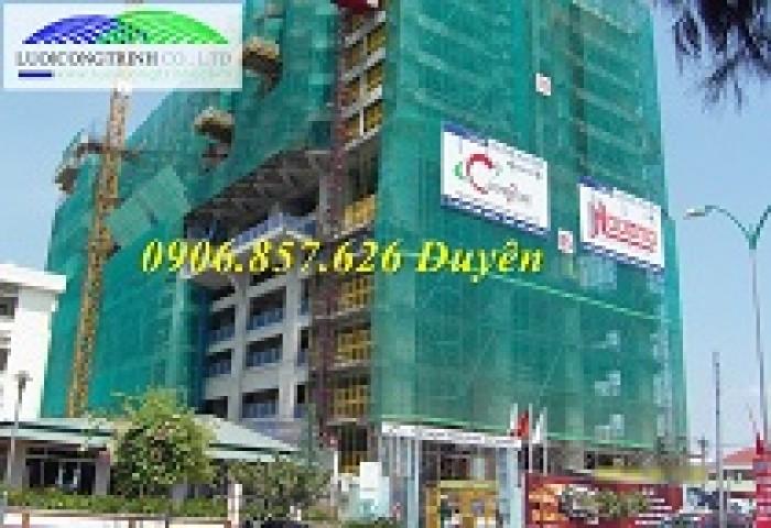 Lưới công trình, lưới chắn bụi, lưới nhựa HDPE15