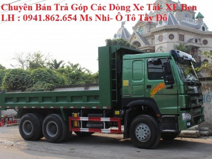 Cần Bán Gấp Xe Ben Howo 3 Chân-12 tấn- Hộ trợ Trã góp- Lãi Suất ưu đãi 2