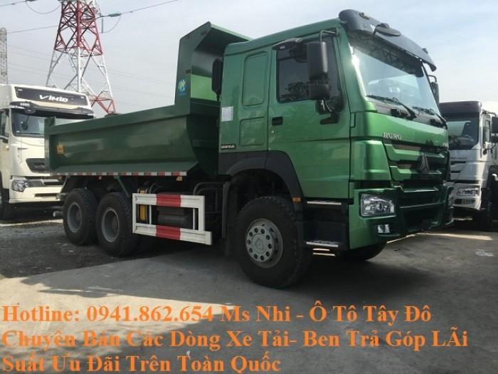 Cần Bán Gấp Xe Ben Howo 3 Chân-12 tấn- Hộ trợ Trã góp- Lãi Suất ưu đãi 1
