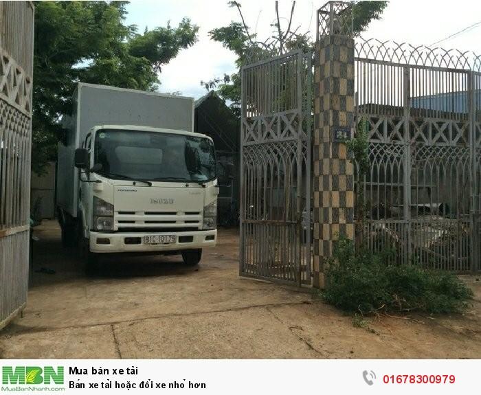 Bán xe tải hoặc đổi xe nhỏ hơn