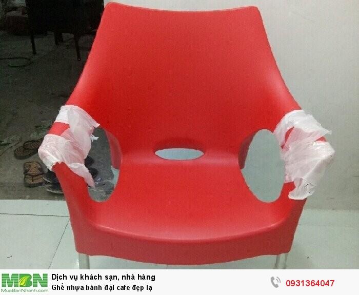 Ghế nhựa bành đại cafe đẹp lạ2