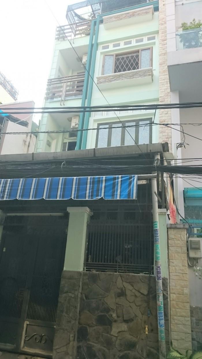 Bán nhà quận Bình Thạnh, Phường 2, Đường Bùi Hữu Nghĩa, 5x15m, giá 7.35 tỷ.