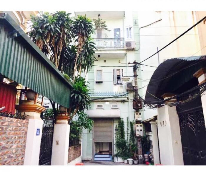 Bán nhà mặt ngõ Nguyễn Khang 31m2 5T mặt tiền 5,8m