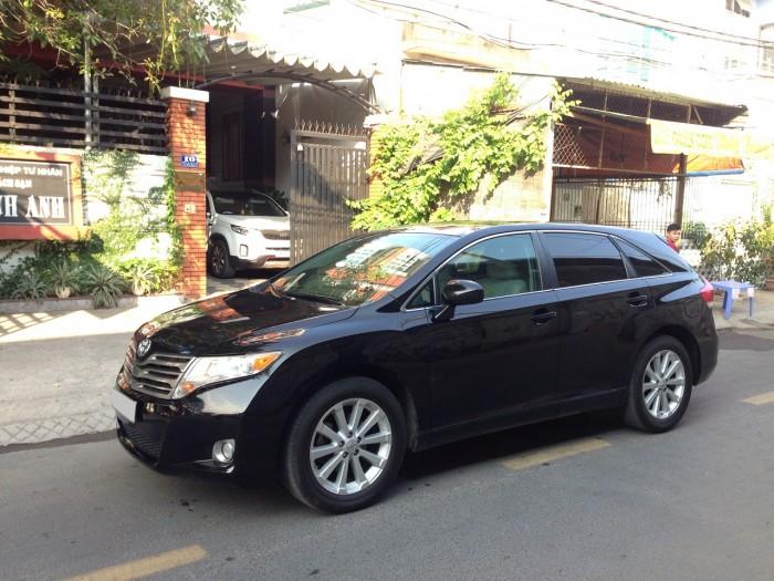 Cần bán xe Toyota Venza 2010 màu đen VIP nhập khẩu Mỹ