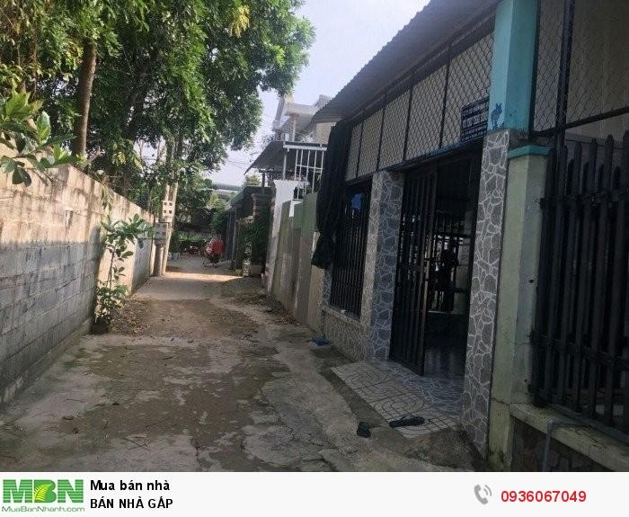 Bán nhà 4,5x20m gần chợ, nhà, cây xăng, trường học