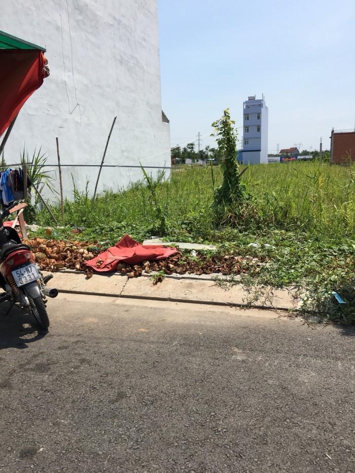 Bán đất Hóc Môn đường Phan Văn Hớn,SHr,480tr